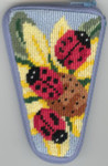 APSZ918 Ladybugs scissor Alice Peterson Stitch And Zip