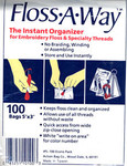 DMC Floss-A-Way 100 zipclose bags
