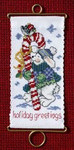 MH126306 Mill Hill Banding Kit Holiday Greetings Bunny (2006)