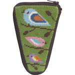 APSZ926 Birds Of Color Alice Peterson Stitch And Zip