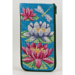APSZ429 Waterlily Alice Peterson Stitch And Zip EYEGLASS CASE
