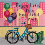 APCANOODLES5052 Enjoy Life Bike Ride Alice Peterson !