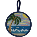APSU7009 Tropical Beach Alice Peterson STITCH-UPS