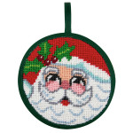 APSU7004 Santa Face Alice Peterson STITCH-UPS