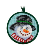 APSU7001 Snowman Alice Peterson STITCH-UPS