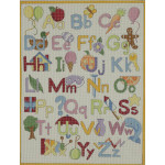 AP3048 Upper and Lower Alphabet Alice Peterson 13 Mesh 12 X 16