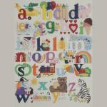 AP3027 My First Alphabet Alice Peterson 13 Mesh 24 x 26