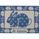AP973 Le Lapin (Rabbit) Alice Peterson 13 Mesh 10 x 7 !