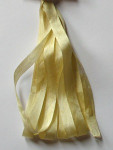 SR-4MM-153 Egg Custard Dinky-Dyes Silk Ribbon 4mm