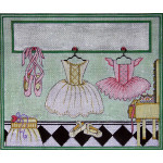 AP3530 Ballerina's Room Alice Peterson 13 Mesh 11 x 9.5