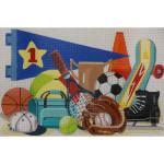AP3352 Sports  Alice Peterson 13 Mesh 18 X 12