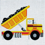 AP3510 Small Dump Truck Alice Peterson 13 Mesh 6 X 6