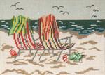"145-13 Beach Chairs 13 Mesh - 9-1/2"" x 7""  Needle Crossings"