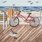 "163 Boardwalk Bicycle 18 Mesh - 5"" Square Needle Crossings"