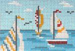 "317 At Sea 18 Mesh - 3"" x 2"" Needle Crossings"
