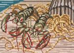 "165 Lobster Catch 18 Mesh - 7"" x 5""  Needle Crossings"
