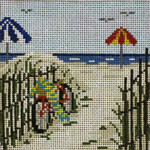 "96 Beach Bike 18 Mesh - 4"" Square  Needle Crossings"