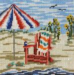 """90 Seaside Chair 18 Mesh - 4"""" Square  Needle Crossings"""