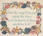 """2101 Song of the Sea 13 Mesh - 12"""" x 10"""" Needle Crossings"""