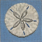 "101 Sand Dollar 18 Mesh - 4"" Square Needle Crossings"