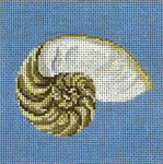 "102 Nautilus Shell 18 Mesh - 4"" Square Needle Crossings"
