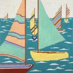 "2102 Passing Sails 13 Mesh - 12"" x 12"" Needle Crossings"