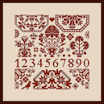 Dinky-Dyes Monasterium Designs M-WQS5 Willie's Quaker Square 5