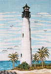 "113 Cape Florida Lt. (FL) 18 Mesh - 5"" x 7""  Needle Crossings"