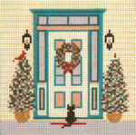 "1708 Holiday Homecoming 18 Mesh - 4"" Square Needle Crossings"