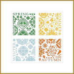 Dinky-Dyes Monasterium Designs M-S4S Sampler 4 Seasons