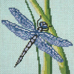 "772 Dragonfly 18 Mesh - 4"" Square  Needle Crossings"