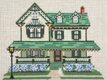 "827 Jacob Leaming House (Cape May, NJ) 18 Mesh - 7"" x 5"" Needle Crossings"