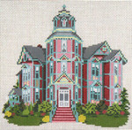 "195 Ann Starrett Mansion (Port Townsend, WA) 18 Mesh - 6"" x 6""  Needle Crossings"