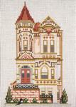 "828 Oak Street House (San Francisco, CA) 18 Mesh - 5"" x 7""  Needle Crossings"