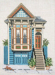 "197 House on 23rd Street (San Francisco, CA) 18 Mesh - 5"" x 7""  Needle Crossings"
