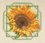 "#216 Sunflower 13 Mesh - 10"" SquareNeedle Crossings"
