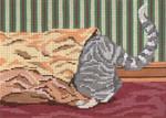 "3119 Cat in the Sack 18 Mesh - 7"" x 5""  Needle Crossings"