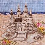 "703 Sand Castle 18 Mesh - 5"" Square Needle Crossings"