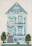 """824-13 Steiner Street House (San Francisco, CA) 13 Mesh - 7"""" x 9-1/2""""  Needle Crossings"""