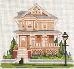 "821-13 Saltwood House (Cape May, NJ) 13 Mesh - 7"" x 7"" Needle Crossings"