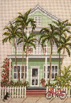 "831-13 Island House (Key West, FL) 13 Mesh - 7"" x 9-1/2"" Needle Crossings"