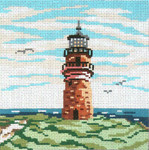 "129-13 Gay Head Lt.(MA) 13 Mesh - 7"" x 7 Needle Crossings"