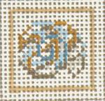 "1711 Mini Snail Shell 18 Mesh 1-3/4"" Needle Crossings"