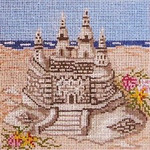 "703-13 Sand Castle 13 Mesh - 7"" Square   Needle Crossings"