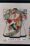 SPM256 Lee's Needle Arts Kimono 8in x 10in Retired 16 mesh