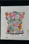 SPM296 Lee's Needle Arts Kimono 8in x 10in Retired