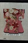 SPM264 Lee's Needle Arts Kimono 8in x 10in Retired16 mesh