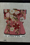 SPM264 Lee's Needle Arts Kimono 8in x 10in Retired
