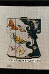 SPM254 Lee's Needle Arts Kimono 8in x 10in Retired