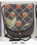 A-90 13M Flap only  Strawberry Garden Sophia Designs Purse
